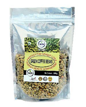 N2B A++ GRADE GREEN COFFEE BEANS 500g