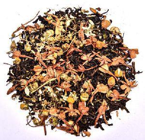 Jasmine Chamomile Leaf Green Tea