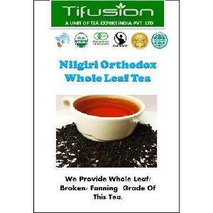 Nilgiri Orthodox Whole Leaf Black Tea