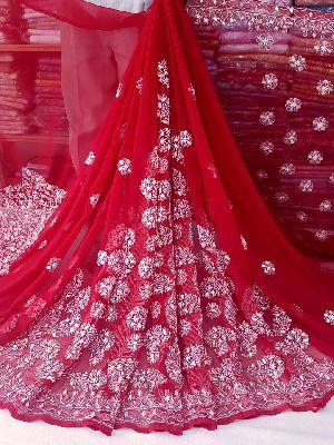 Lucknow Chikan Sarees