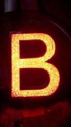 Crystal LED Letters