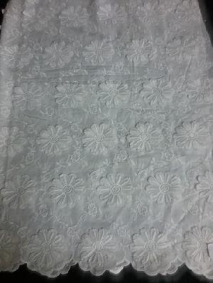 Embroidery Cotton Fabric