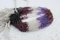 Multi Top Fancy Drops Faceted Bead