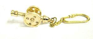 Nautical Brass Keychains