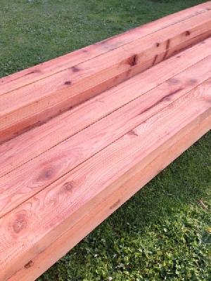 California Redwood Planks