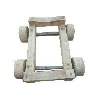 Wooden Craft Cart