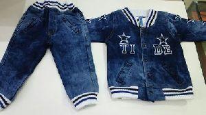 Boys Denim Jacket Suits