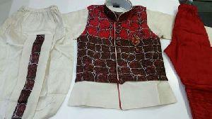 Ethnic Jacket Kurta Set