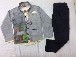Boys Party Wear Blazer Suit