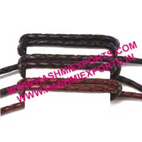 Flat Braided Leather Cord (HE-BFLC-05)