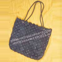 Ladies Leather Handbag (HE-LBA-02)