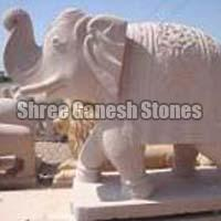 Sandstone Animal Statues