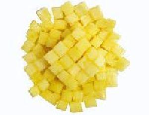 Frozen Pineapple Fruit