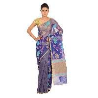 Ladies Fancy Embroidered Sarees