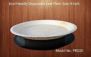 8 Inch Round Areca Leaf Plates