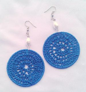 Crochet Threads Earrings