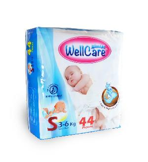 44 Pcs Wellcare Baby Diaper