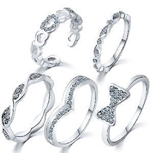 Ladies Artificial Rings
