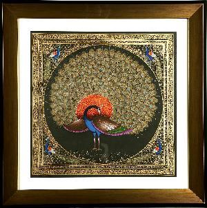 Handpainted  Rajasthani Miniature Painting