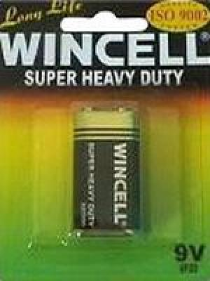 9V 1 Wincell Super Heavy Duty Batteries