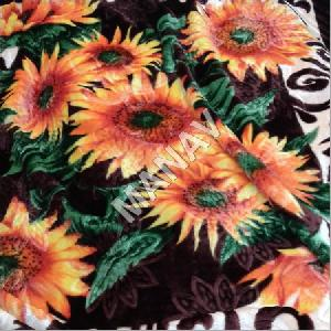 Sunflower Printed Blankets