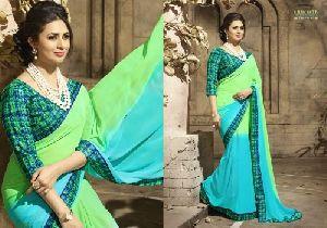 HLS-10 Designer Saree