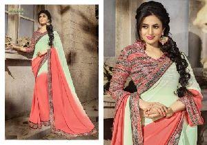 HLS-12 Designer Saree