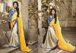 HLS-13 Designer Saree