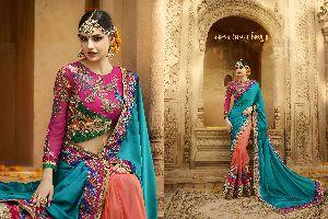 HLS-6002 Designer Saree