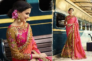 HLS-7001 Designer Saree