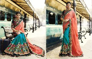 HLS-7002 Designer Saree