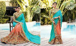 HLS-7005 Designer Saree