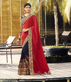 HLS-7006 Designer Saree