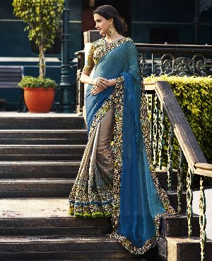 HLS-7007 Designer Saree