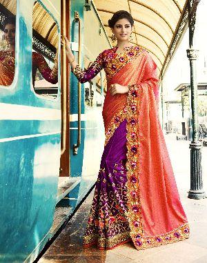 HLS-7008 Designer Saree
