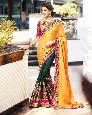 HLS-7011 Designer Saree