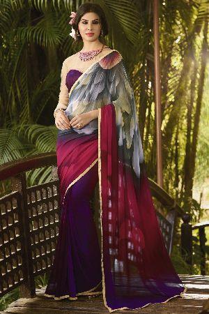 HLS-7226 Designer Saree