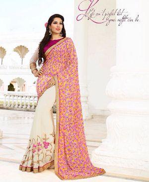 HLS-7612 Designer Saree