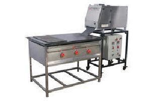 Semi Cooked Chapati Making Machine