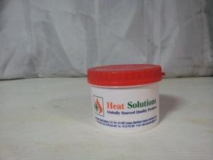 Red Plastic Straight Container (500 Gm.)