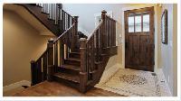 Custom Hardwood Stair