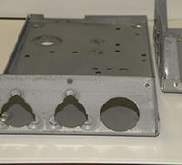 steel back plate