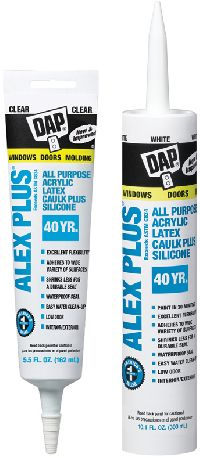 Acrylic Latex Caulk Plus Silicone Adhesives Sealants