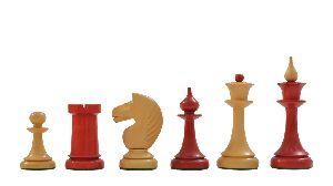 Red Sandalwood Chess Set