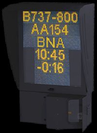 Safedock Ramp Information Display System