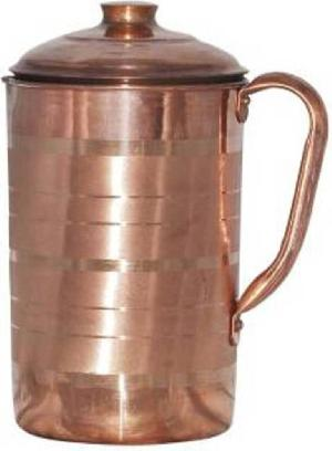 Indian Craftio Copper Designed Luxury Water Jug