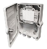 Ip65 12-way Small Lockable Wall Box