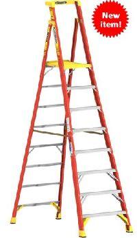 fiberglass podium ladder