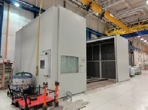 Blanking Line Press Acoustic Enclosure