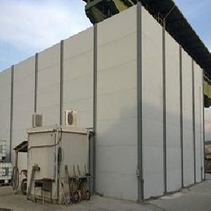 Sound Absorbing Noise Barrier